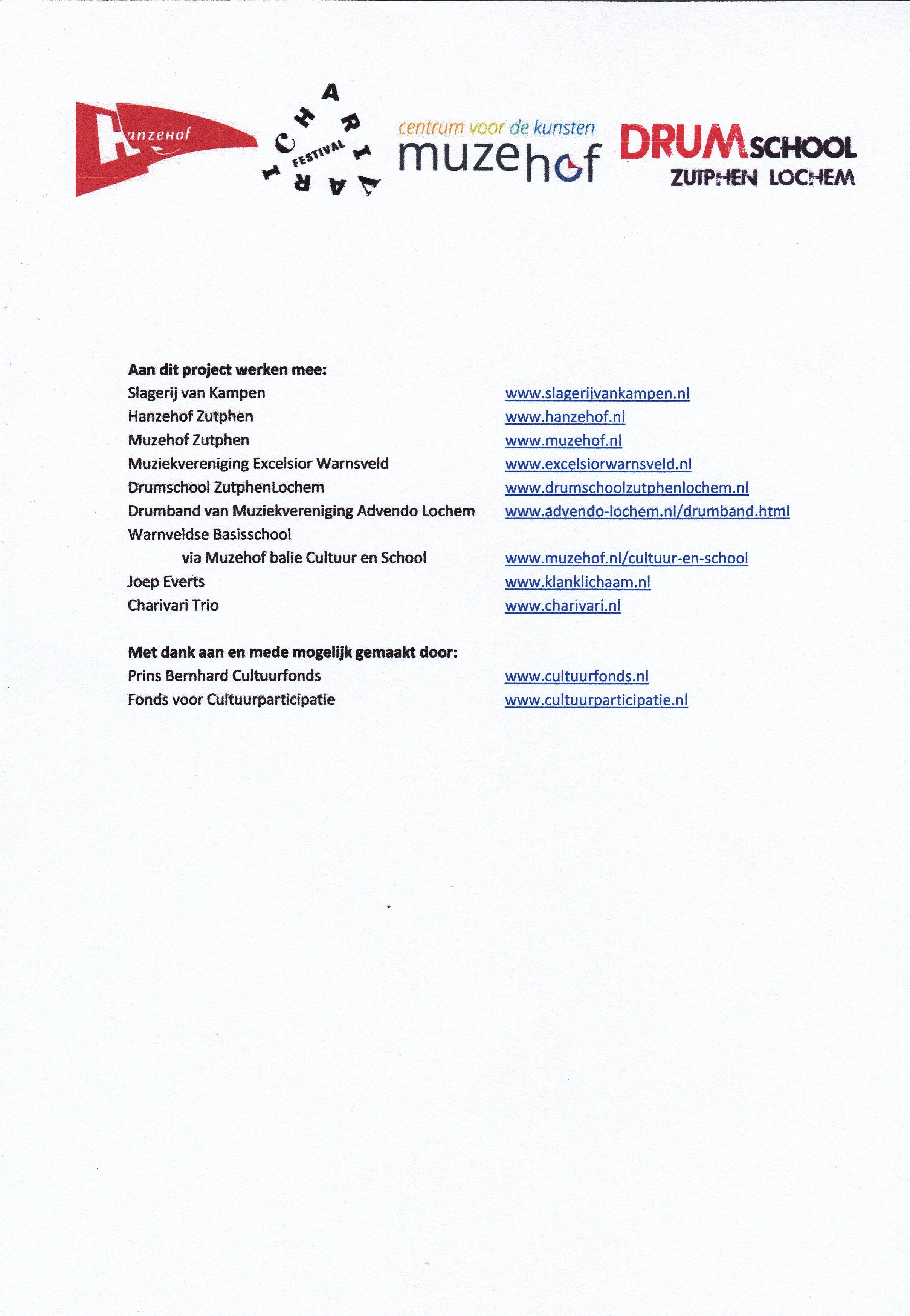Uitnodiging workshop en concert Slagerij van Kampen 3